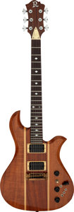 Musical Instruments:Electric Guitars, 1985 B. C. Rich Eagle Natural Solid Body Electric Guitar, Serial # 85348....