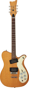 Musical Instruments:Electric Guitars, 1972-1974 Mosrite 350 Natural Solid Body Electric Guitar, ...