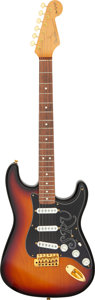 Musical Instruments:Electric Guitars, 1989 Fender Stevie Ray Vaughan Stratocaster Sunburst Solid Body Electric Guitar, Serial # SE911241....