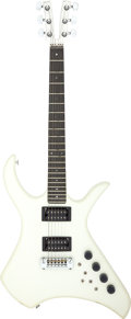 Musical Instruments:Electric Guitars, 1980 Kramer XL5 White Solid Body Electric Guitar, Serial # A1475....