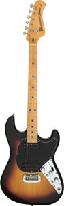 Musical Instruments:Electric Guitars, 1978 Music Man Sabre I Sunburst Solid Body Electric Guitar, Serial # A003336....