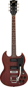 Musical Instruments:Electric Guitars, 1973 Gibson SG-Special Cherry Solid Body Electric Guitar, Serial # 904196....