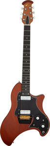 Musical Instruments:Electric Guitars, Circa 1970s Ovation Breadwinner Natural Solid Body Electric Guitar, Serial # E 18737....
