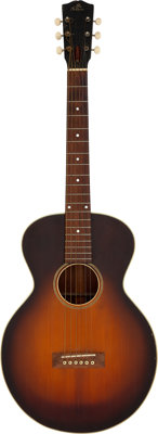 Circa 1920's Gibson L-1 Sunburst Acoustic Guitar, Serial # 9415