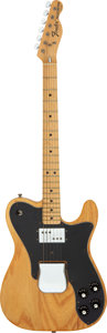 Musical Instruments:Electric Guitars, 1975 Fender Telecaster Custom Natural Solid Body Electric Guitar,Serial # 566717....