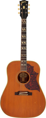1964 Gibson Country Western Natural Acoustic Guitar, Serial # 182921