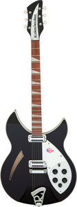 Musical Instruments:Electric Guitars, 2018 Rickenbacker 360 Jetglo Semi-Hollow Body Electric Guitar, Serial # 18 26796....