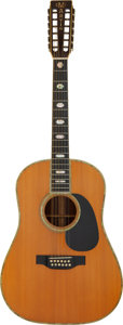 Musical Instruments:Acoustic Guitars, 1976 Martin D-12-45 Natural 12 String Acoustic Guitar, Serial # 380255....