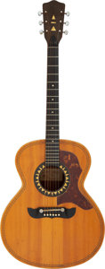 Musical Instruments:Acoustic Guitars, Buddy Emmons 1971 Framus Natural Acoustic Guitar, Serial # 39817....