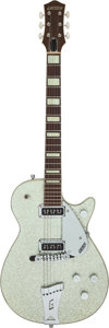 Musical Instruments:Electric Guitars, 1956 Gretsch 6129 Silver Sparkle Solid Body Electric Guitar, Serial # 17246....