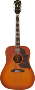Musical Instruments:Acoustic Guitars, 1966 Gibson SJ Cherry Sunburst Acoustic Guitar, Serial # 404885....