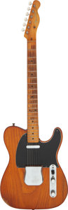 Musical Instruments:Electric Guitars, 1957 Fender Telecaster Natural Solid Body Electric Guitar, Serial # -22548....