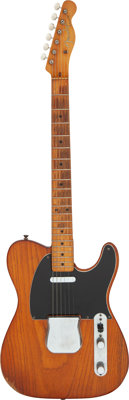 1957 Fender Telecaster Natural Solid Body Electric Guitar, Serial # -22548