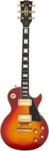 Musical Instruments:Electric Guitars, 1974 Gibson Les Paul Custom Cherry Sunburst Solid Body Electric Guitar, Serial # 507476....