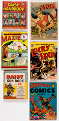 Memorabilia:Miscellaneous, Premiums and Esoterica Short Boxes (2) Group (Various Publishers, 1950s-60s) Condition: Average VG... (Total: 2 Box Lots)