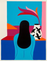 Parra (Dutch, b. 1976) The Window, 2016 Screenprint in colors on paper 24 x 18 inches (61.0 x 45.7 cm) Ed. 26/125 S