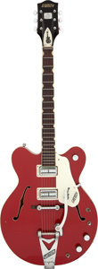 Musical Instruments:Electric Guitars, 1967 Gretsch Monkees Rock N' Roll Model Red Semi-Hollow Body Electric Guitar, Serial # 271356....