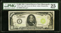 Small Size:Federal Reserve Notes, Fr. 2211-I $1,000 1934 Light Green Seal Federal Reserve Note. PMG Very Fine 25.. ...