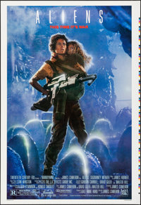 "Aliens (20th Century Fox, 1986). Folded, Very Fine+. Printer's Proof One Sheet (28"" X 41""). Science Fiction..."
