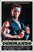"Movie Posters:Action, Commando (20th Century Fox, 1985). Rolled, Very Fine-. One Sheet (27"" X 41"") SS. Action.. ..."