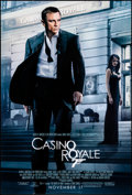 "Movie Posters:James Bond, Casino Royale (MGM, 2006). Rolled, Very Fine-. One Sheet (26.75"" X 39.75"") DS Advance. James Bond.. ..."
