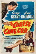 Movie Posters:Comedy, The Corpse Came C.O.D. & Other Lot (Columbia, 1947). Folde...
