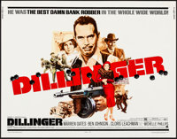 """Dillinger & Other Lot (American International, 1973). Rolled, Very Fine-. Half Sheet (22"""" X 28""""). George A..."""