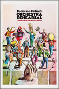 """Movie Posters:Foreign, Orchestra Rehearsal (New Yorker Films, 1978). Folded, Very Fine/Near Mint. One Sheet (27"""" X 41""""). Foreign.. ..."""