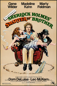 The Adventure of Sherlock Holmes' Smarter Brother & Other Lot (20th Century Fox, 1975). Folded, Fine+. One Sheet...