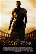 """Movie Posters:Action, Gladiator (Universal, 2000). Rolled, Very Fine+. One Sheet (27"""" X 40"""") DS. Action.. ..."""