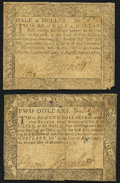 Colonial Notes:Maryland, Maryland December 7, 1775 $2 Very Fine.Mary...