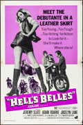 "Movie Posters:Exploitation, Hell's Belles (American International, 1969). Folded, Fine/VeryFine. One Sheet (27"" X 41"") & Photos (3) (8"" X 10""). Exploit...(Total: 4 Items)"