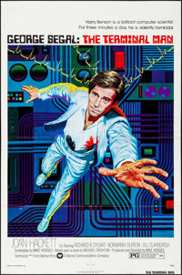 """The Terminal Man & Other Lot (Warner Brothers, 1974). Folded, Fine/Very Fine. One Sheets (2) (27"""" X 41""""..."""