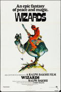 """Movie Posters:Animation, Wizards (20th Century Fox, 1977). Folded, Fine/Very Fine. One Sheet (27"""" X 41"""") Style A, William Stout Artwork. Animation.. ..."""