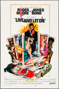 """Movie Posters:James Bond, Live and Let Die (United Artists, 1973). Folded, Very Fine-. One Sheet (27"""" X 41""""). Robert McGinnis Artwork. James Bond.. ..."""