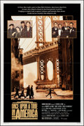 """Movie Posters:Crime, Once Upon a Time in America (Warner Brothers, 1984). Folded, Very Fine. One Sheet (27"""" X 41""""). Crime.. ..."""