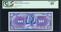 Military Payment Certificates:Series 611, Series 611 $10 PCGS Extremely Fine 45.. ...