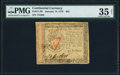 Colonial Notes:Continental Congress Issues, Continental Currency January 14, 1779 $55 PMG Choice Very ...
