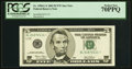 Fr. 1990-L* $5 2003 Federal Reserve Note. PCGS Perfect New 70PPQ