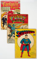 Golden Age (1938-1955):Miscellaneous, Golden to Silver Age Incomplete Comics Group of 5 (Various Publishers, 1940s-60s) Condition: Incomplete.... (Total: 5 Comic Books)