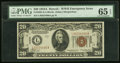 Fr. 2305 $20 1934A Hawaii Federal Reserve Note. PMG Gem Uncirculated 65 EPQ