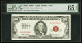 Small Size:Legal Tender Notes, Fr. 1551 $100 1966A Legal Tender Note. PMG Gem Uncirculate...