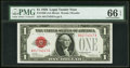 Small Size:Legal Tender Notes, Fr. 1500 $1 1928 Legal Tender Note. PMG Gem Uncirculated 66 EPQ.....