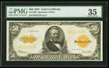 Large Size:Gold Certificates, Fr. 1200 $50 1922 Gold Certificate PMG Choice Very Fine 35.. ...
