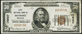 National Bank Notes:Michigan, Detroit, MI - $50 1929 Ty. 1 First NB Ch. # 10527 Very Fine.. ...