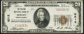 National Bank Notes:Pennsylvania, Berlin, PA - $20 1929 Ty. 1 The Philson NB Ch. # 6512 Very Fine.....