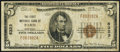 National Bank Notes:Kentucky, Paris, KY - $5 1929 Ty. 1 The First NB Ch. # 6323 Very Good-Fine.. ...