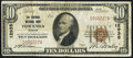 National Bank Notes:Kansas, Towanda, KS - $10 1929 Ty. 1 The Towanda NB Ch. # 12935 Very Fine.. ...