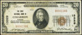 National Bank Notes:Kansas, Cimarron, KS - $20 1929 Ty. 1 The First NB Ch. # 13329 Very Fine.....
