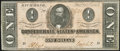 Confederate Notes:1864 Issues, T71 $1 1864 PF-12 Cr. 574 Extremely Fine.. ...